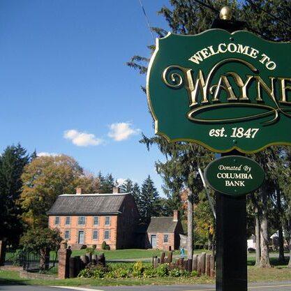 Wayne New Jersey Sign